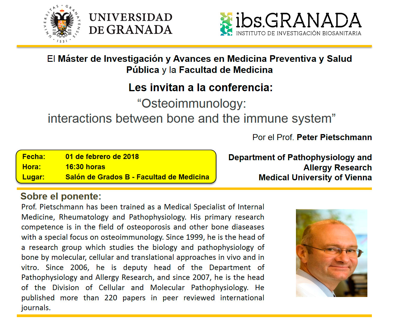 """Osteoimmunology conference: interactions between bone and the immune system"""""""